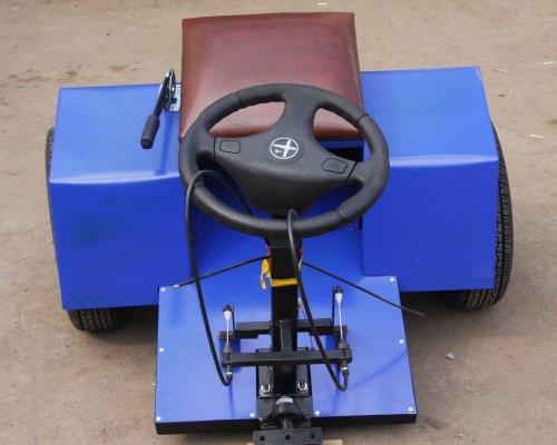 Адаптер с рулевым управлением к мотоблоку своими руками